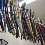 Foto von Fahrradschläuchen