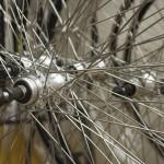 Foto von Fahrradspeichen