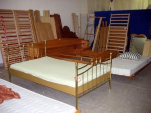 Foto von einem Bett