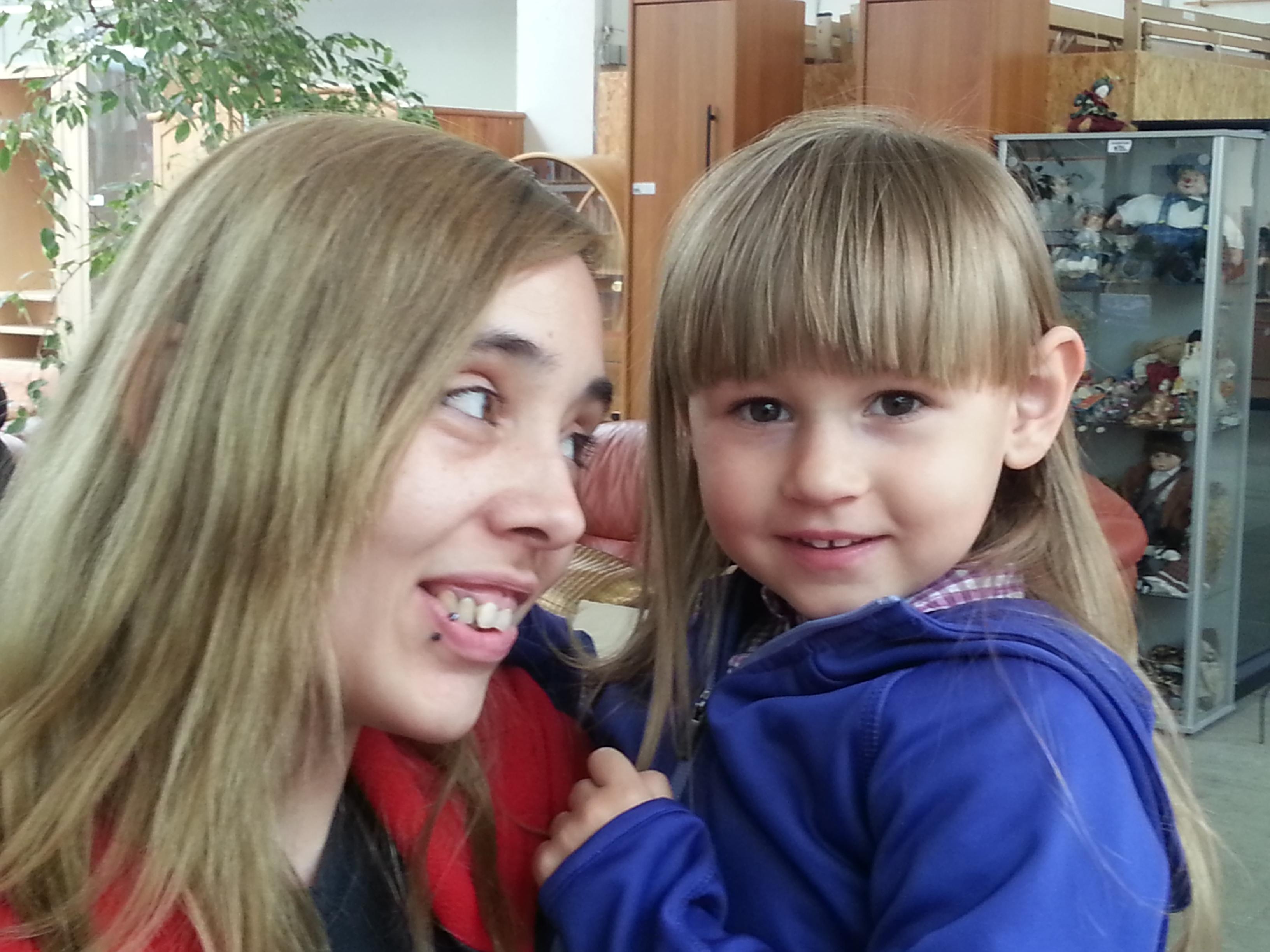 Bild von Mutter und Kind