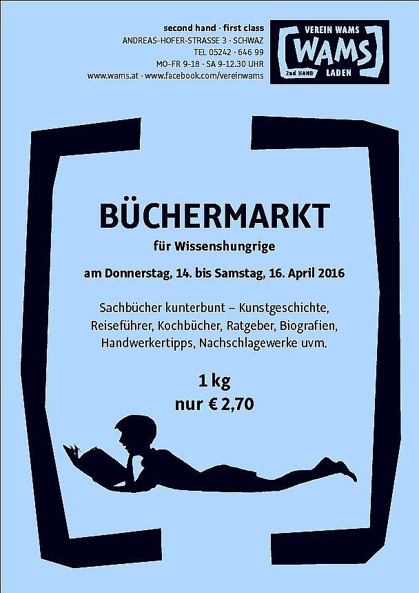 Plakat Büchermarkt