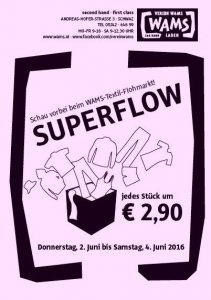 Superflow im WAMS Laden Schwaz