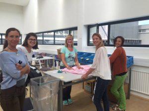 Der Verein WAMS eröffnet einen weiteren Betrieb: die WAMS Textilsortierung